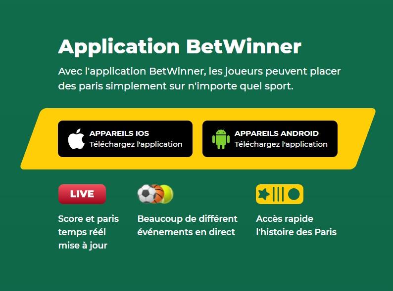Betwinner Application
